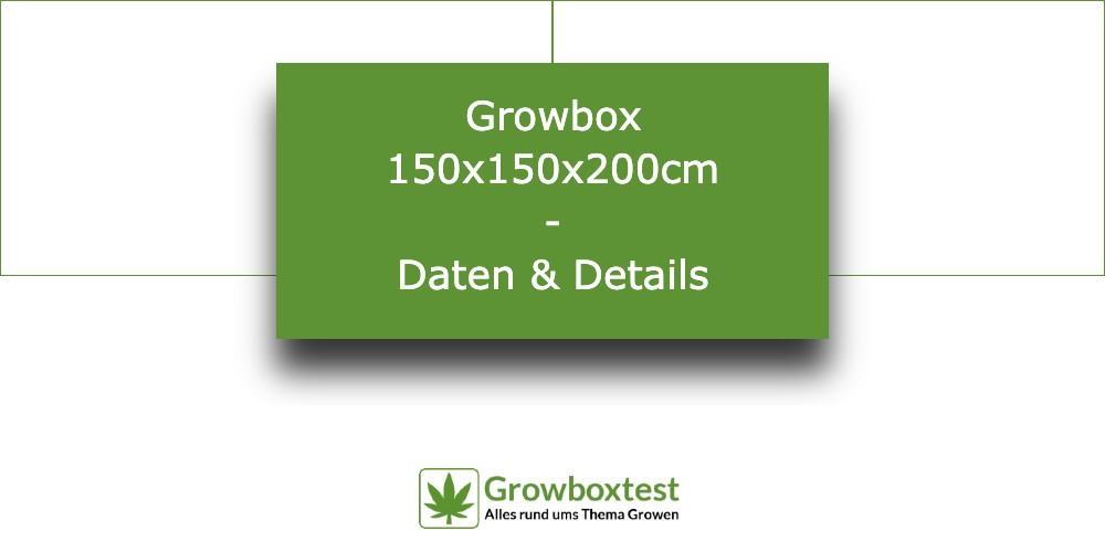 Growbox 150x150x200 – die wichtigsten Infos 1